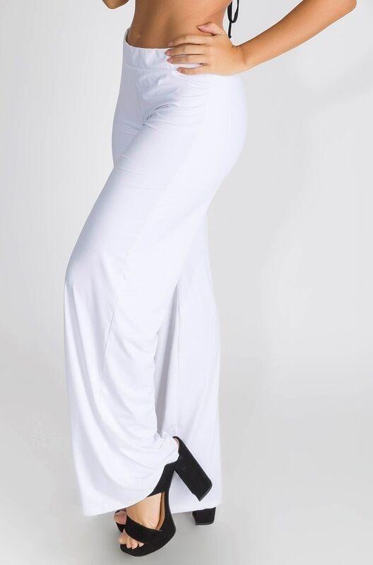 c859f151a8 calça feminina branca saida praia tecido macio y10 reveillon. Carregando  zoom.