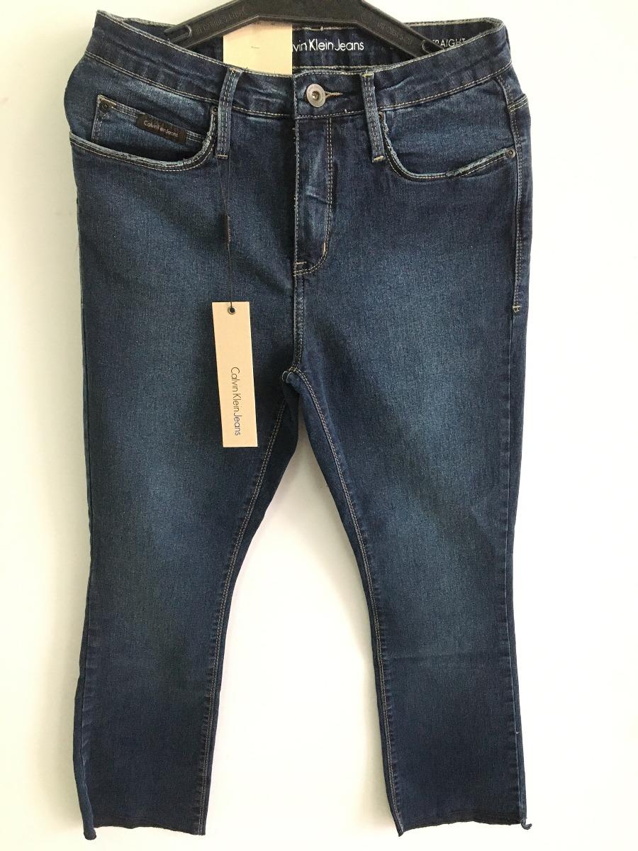 calça feminina calvin klein jeans cintura alta perna reta. Carregando zoom. 83e4181758