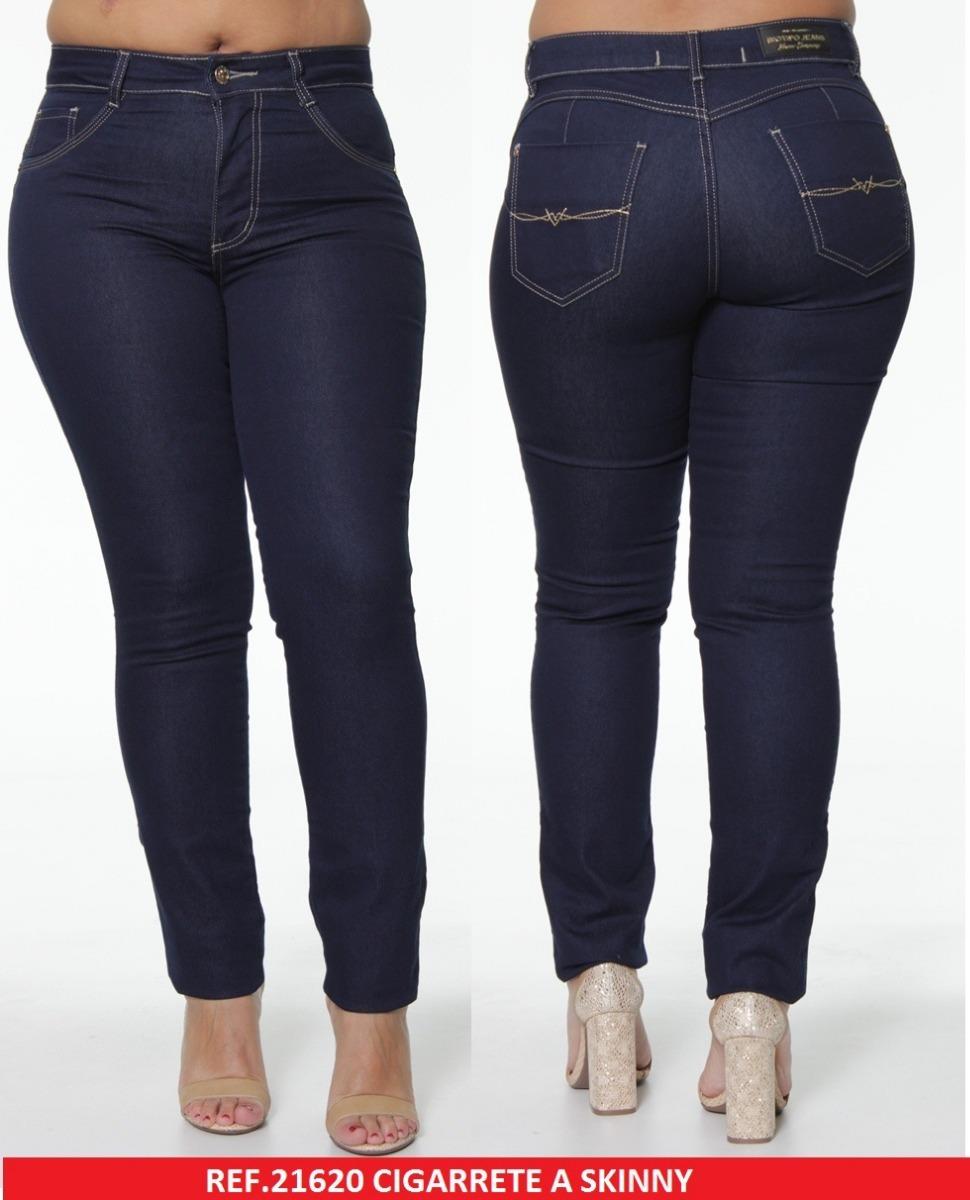 a376acac5 calça feminina cigarrete biotipo jeans plus size 21620. Carregando zoom.