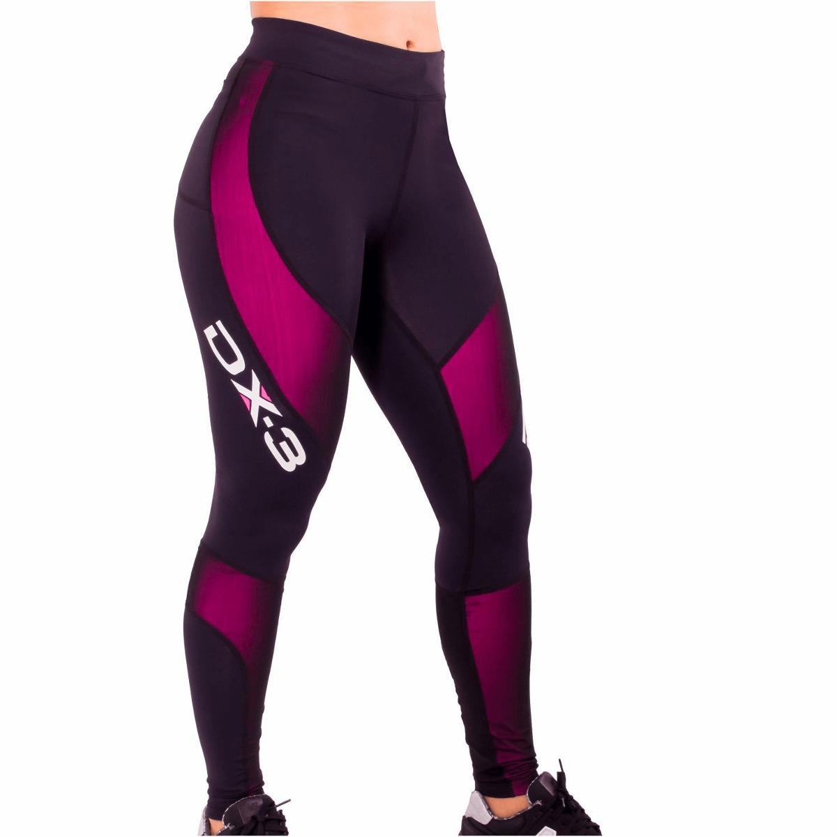 f1a2e61c50d9f calça feminina dx3 x-pro corrida fitness - alta compressão. Carregando zoom.