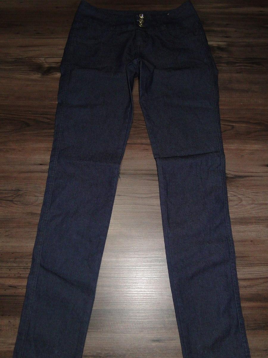 51e9798bb calça feminina em jeans azul 3 botoes! queima d estoque. Carregando zoom.