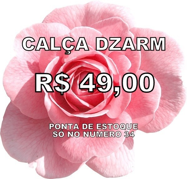 3ccbeac09 Calça Feminina Em Tecido De Sarja - Cód. 2053 - R  49