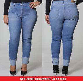 66fc3548b Calça Jeans Plus Size Feminina Biotipo - Calçados, Roupas e Bolsas no  Mercado Livre Brasil