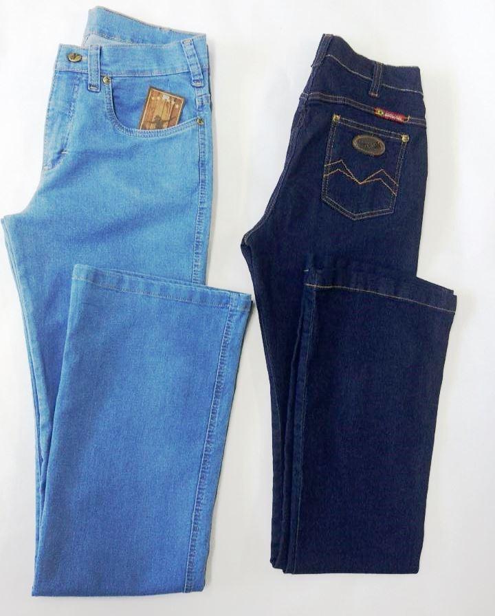 calça feminina flare jeans segura peão country original. Carregando zoom. 6710ff6d94e