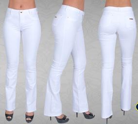 1318fb8d6 Calca Flare Branca Botoes - Calçados, Roupas e Bolsas com o Melhores Preços  no Mercado Livre Brasil