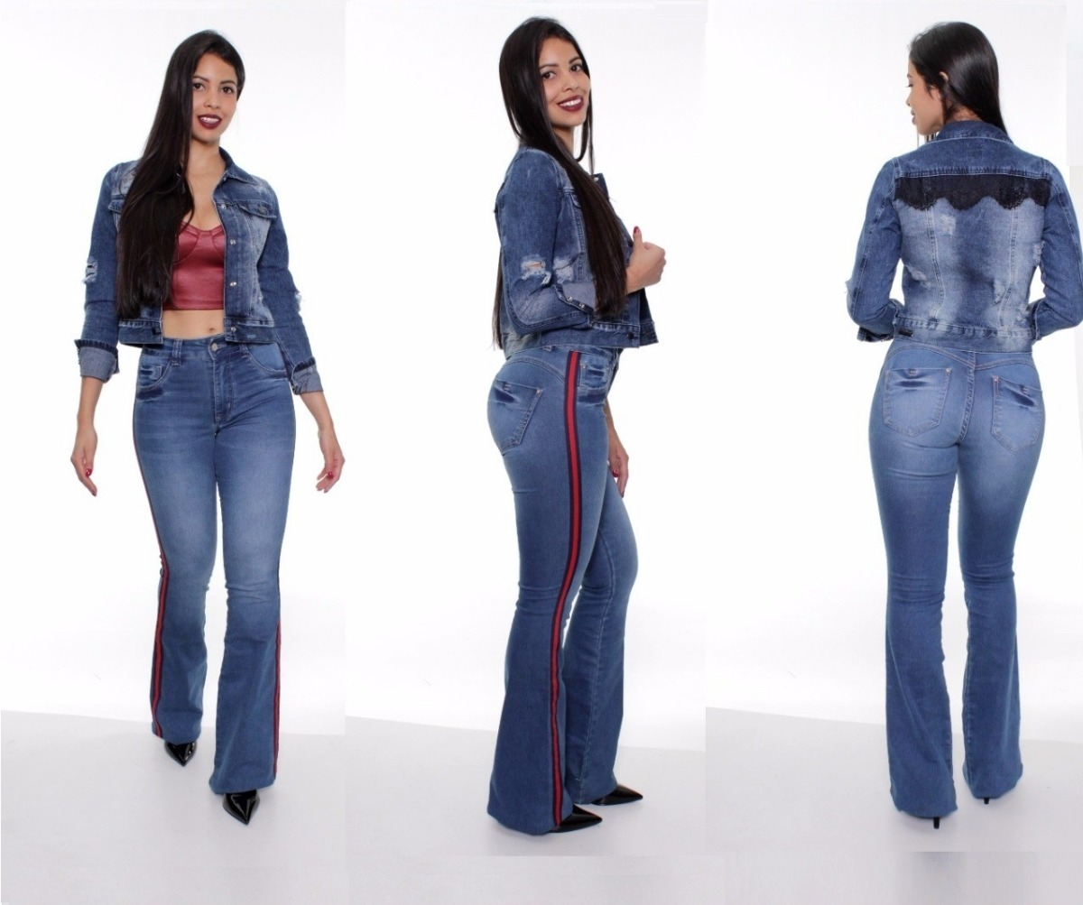 91f5d3ee8 calça feminina jeans biotipo flare 22953. Carregando zoom.