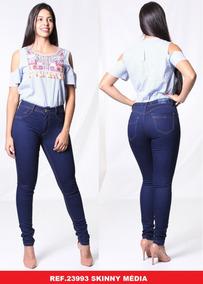 6739cb9a9 Calça Jeans Plus Size Feminina Biotipo - Calças no Mercado Livre Brasil