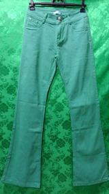64a7f21ed Calca Jeans Elastano Marca Nativa - Calças Feminino no Mercado Livre ...