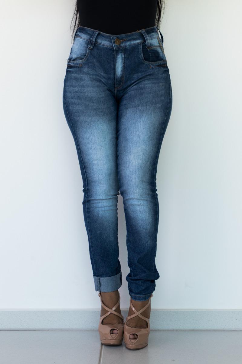 fe3306e31 calça feminina jeans oppnus skinny cos alto edilaine 23108. Carregando zoom.