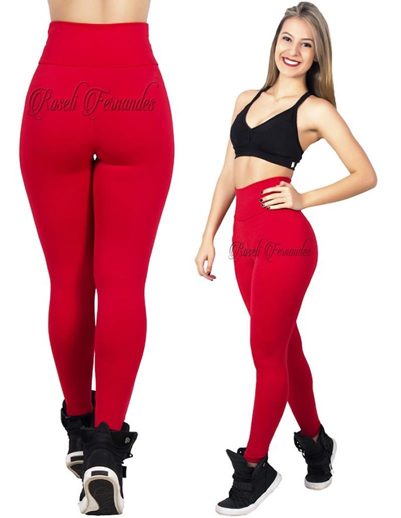d3058cb70 calça feminina legging cós alto temos flare,bandagem,branca. Carregando  zoom.