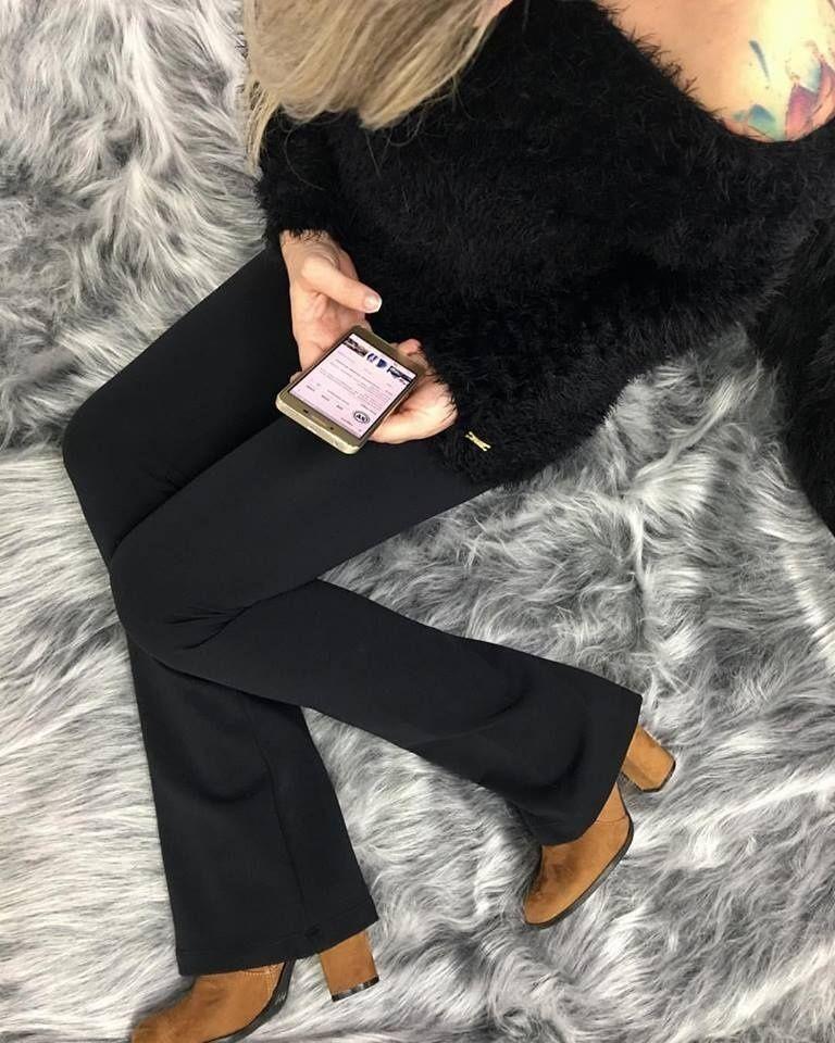 63aefbe3a Calça Feminina Legging Flare Spaço Vagun - R$ 179,22 em Mercado Livre