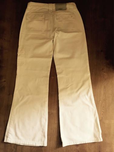 calça feminina - marca zion - branca - tamanho 36