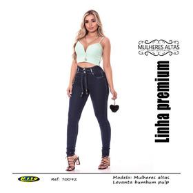 Calça Feminina Mulheres Altas Jeans Ri19