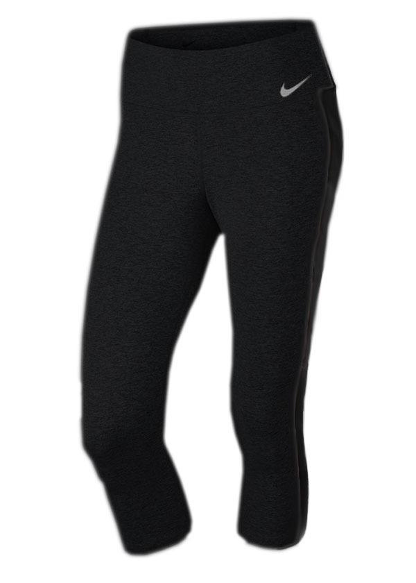 calça feminina nike power capri preta e cinza original. Carregando zoom. d57fa5449700a