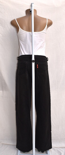 calça feminina sarja preta da loja drops de anis tamanho 40