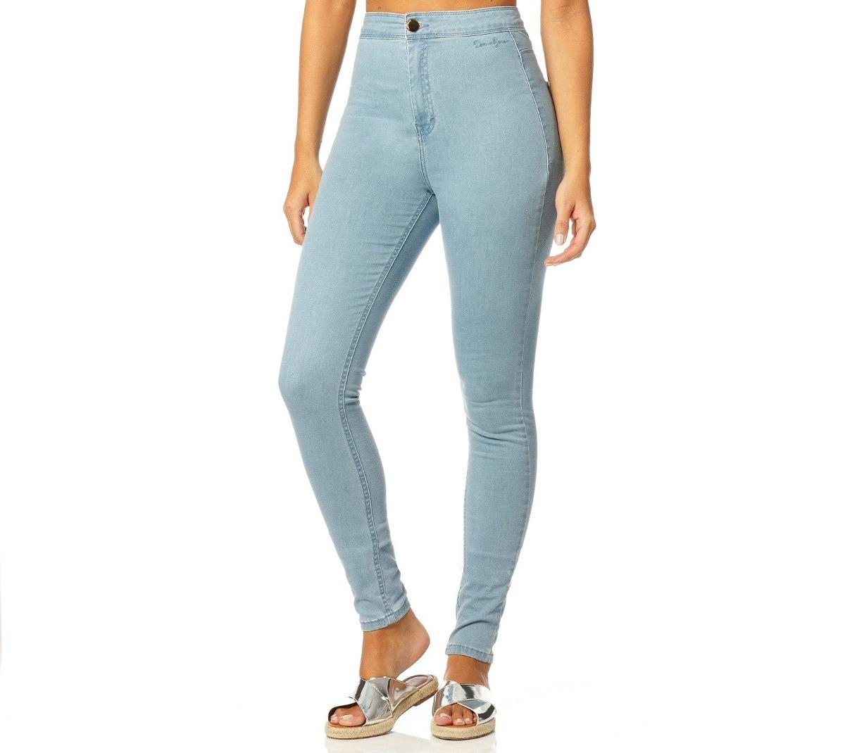 calça feminina skinny hot pants claro denim zero - dz2311. Carregando zoom. 3b1453bffa4