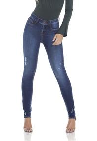 cac5758a3 Calça Jeans Denim Zero - Calças Jeans Feminino no Mercado Livre Brasil