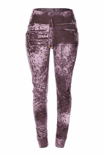 calça feminina veludo molhado cintura alta promoção 2017