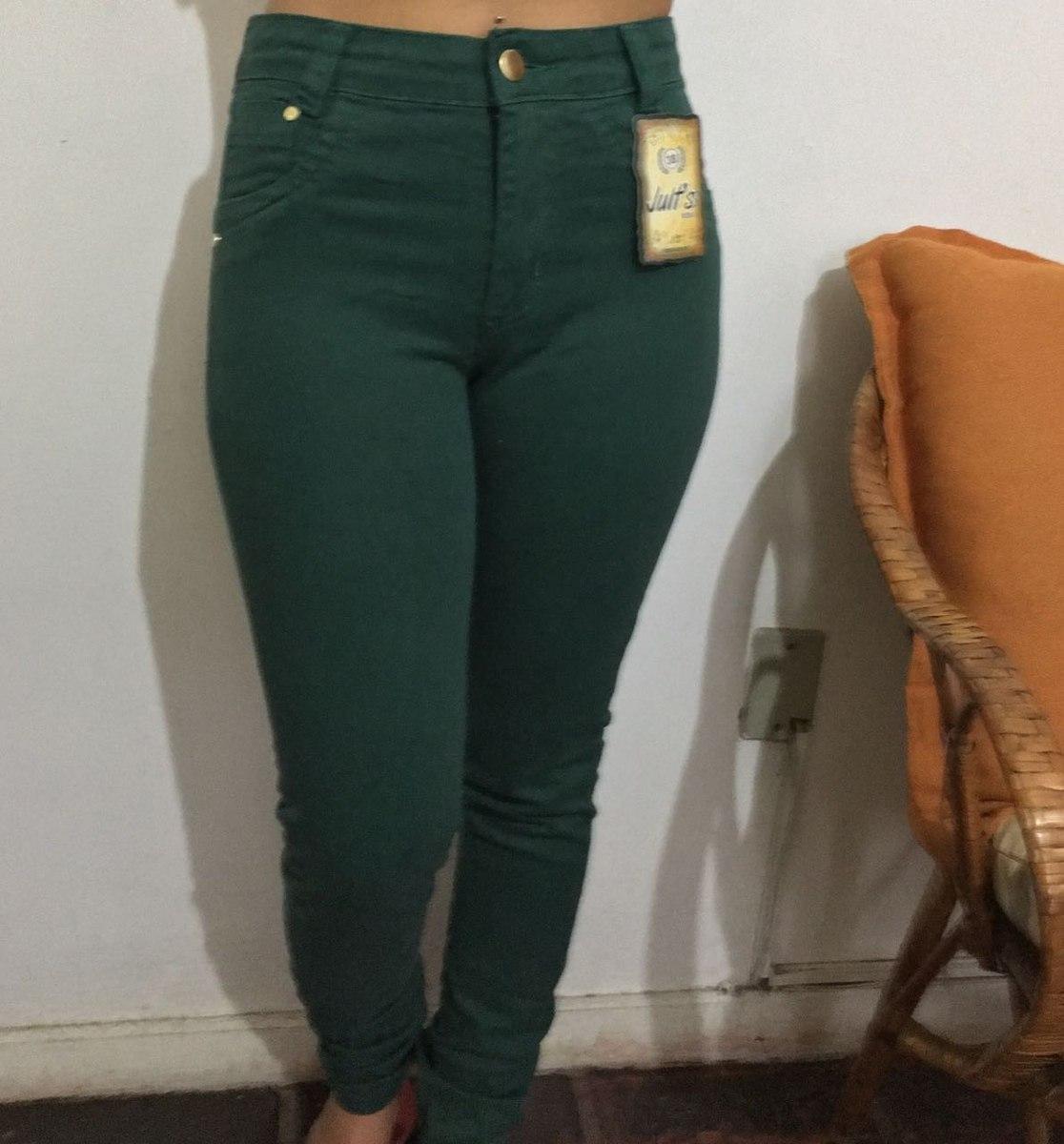 564d907fe Calça Feminina Verde Militar - R$ 69,99 em Mercado Livre