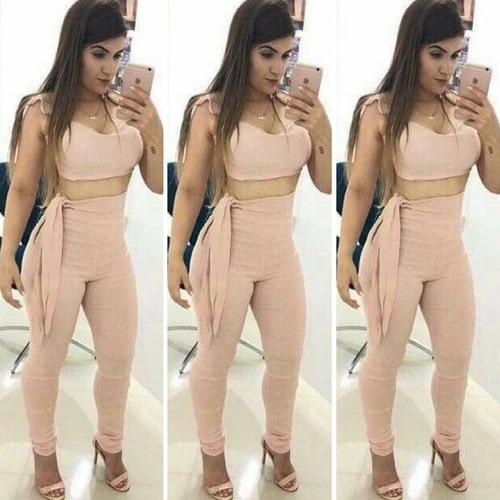 calça feminino cropped