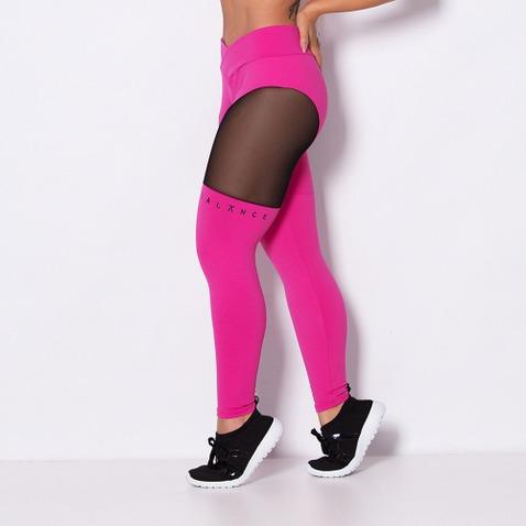 calça fitness tule fashion lg744
