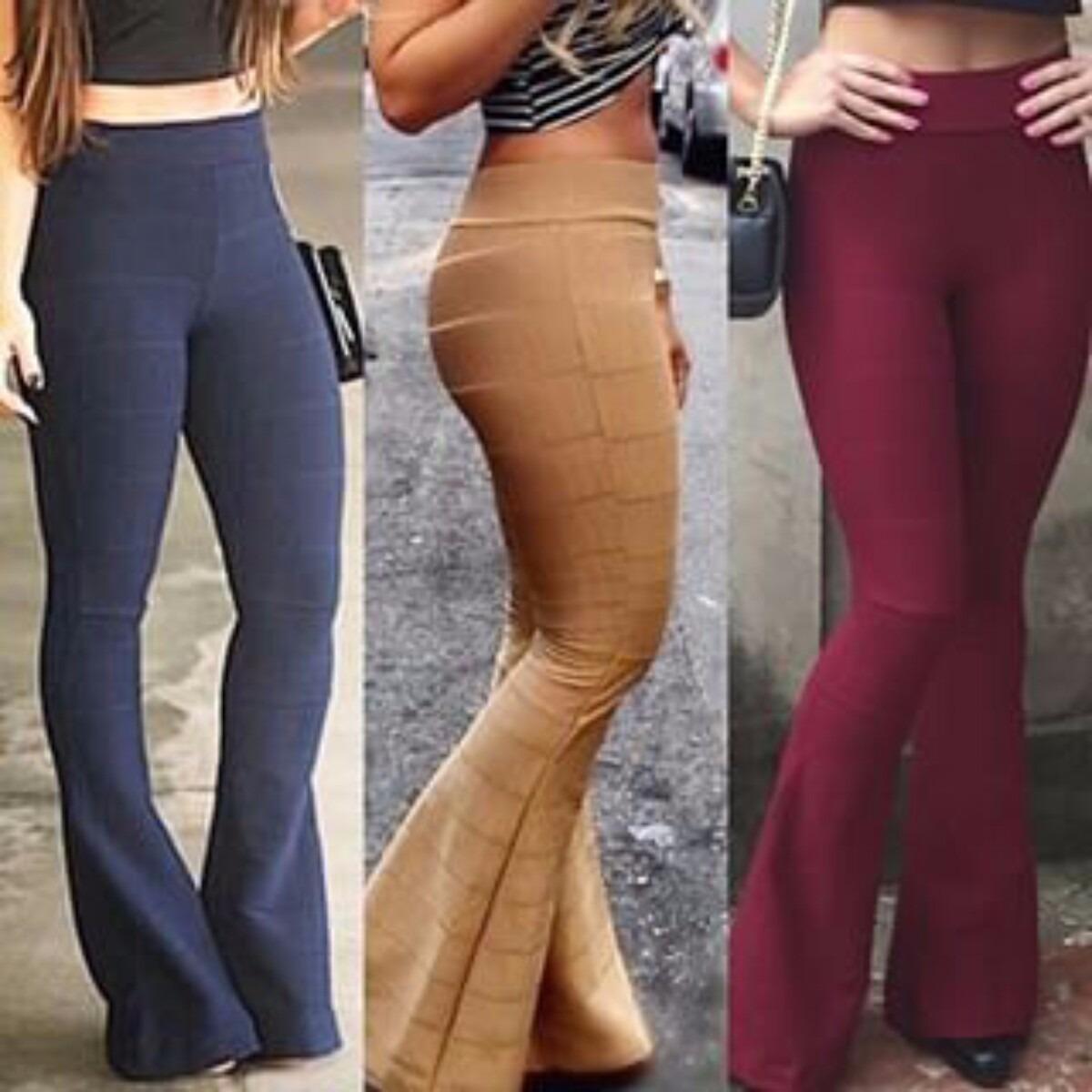 calça flare bandagem juju roupas femininas promoção barato. Carregando zoom. 4d8fe6c4975ff