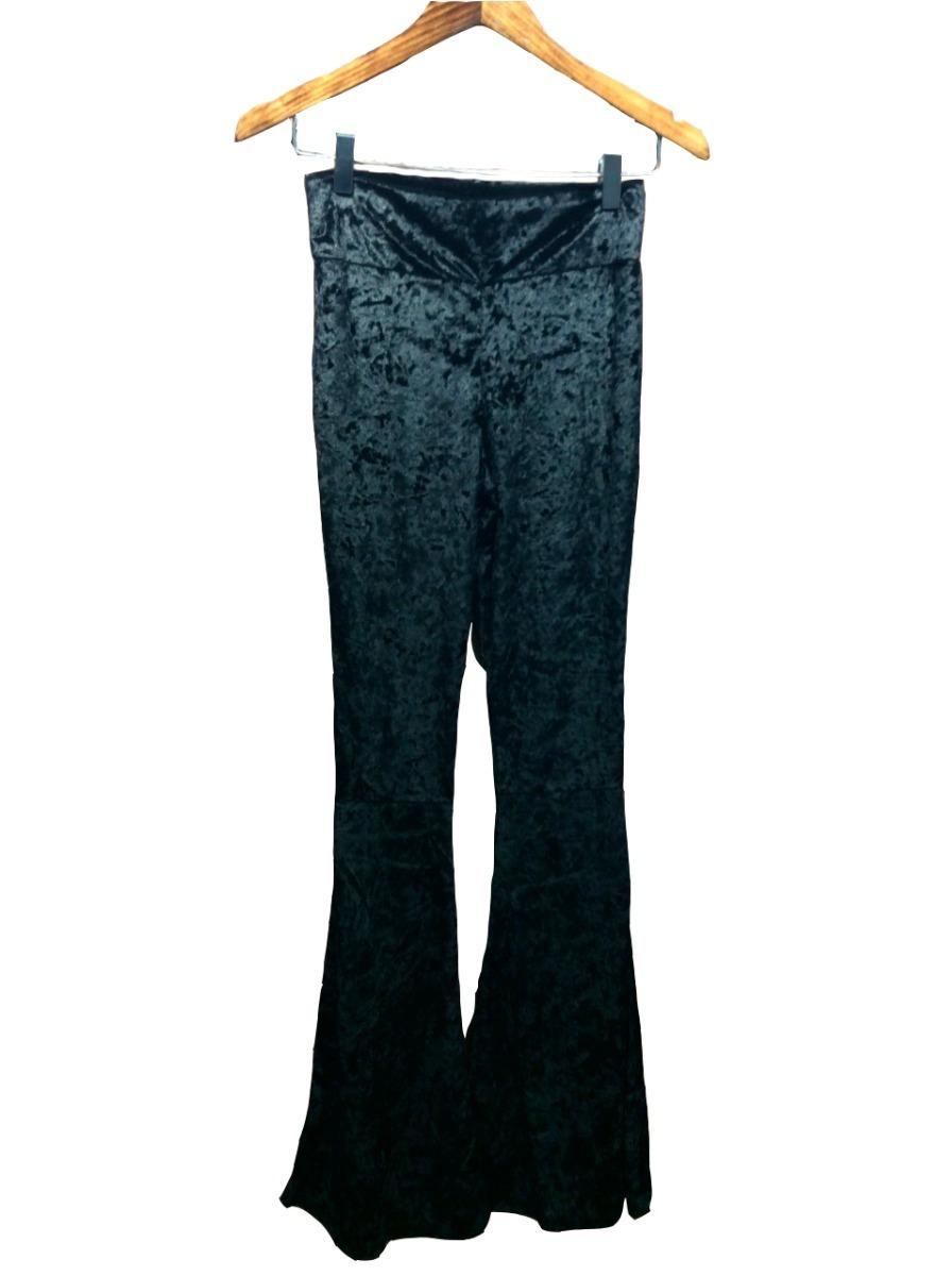 7a8295894 calça flare cintura alta cós veludo molhado sino. Carregando zoom.