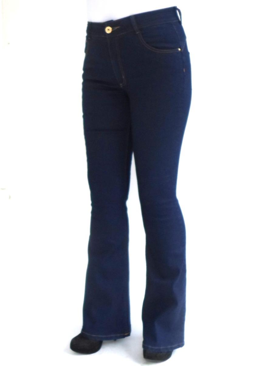 a20bb4580 calça flare cintura média biotipo 19669 kalbatt jeans. Carregando zoom.