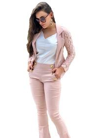d9192ea02 Calça Bengaline Feminina Rosa - Calçados