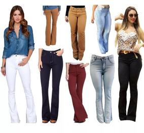 668d18269 Calca Jeans Sarja Azul Marinho - Calças Feminino Azul marinho no Mercado  Livre Brasil