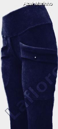 calça flare veludo cotelê com lycra em varias cores