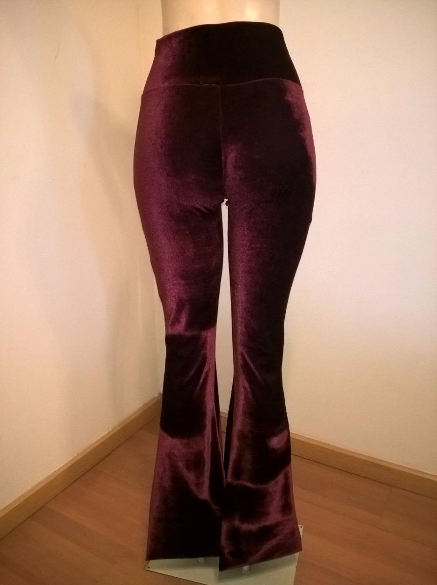 b46361965 calça flare veludo molhado cintura alta cores variadas. Carregando zoom.