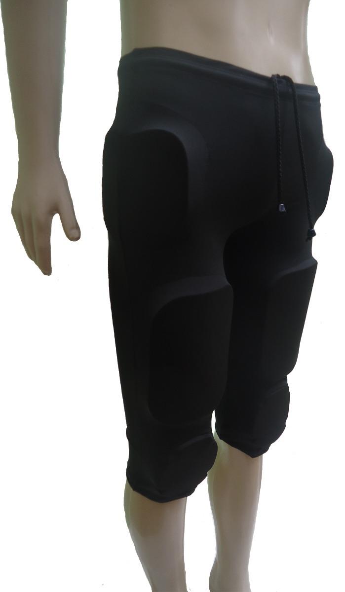 0d92d5583c calça futebol americano com 7 pads completa preta pp. Carregando zoom.