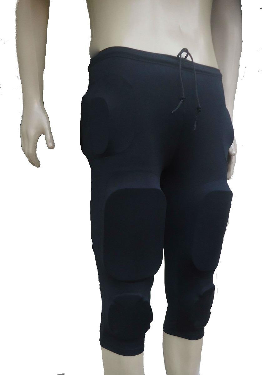 calça futebol americano completa preta 7 pieces tamanho g g. Carregando  zoom. c98f8fa977007