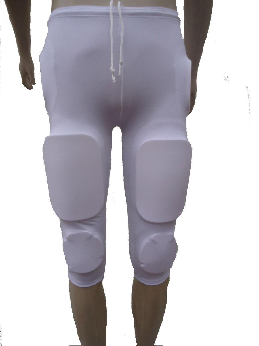 calça futebol americano simples branca m. Carregando zoom. df1a05a63571d