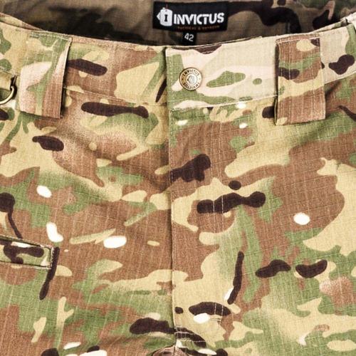 calça guardian invictus camuflada multicam original 10 bolso