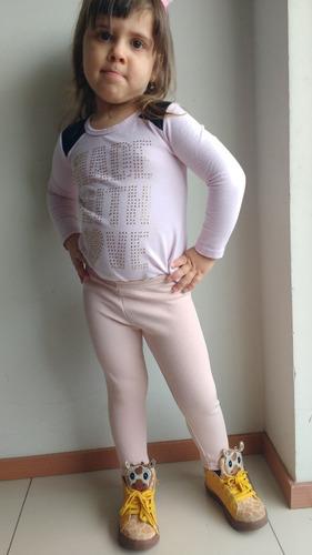 calça infantil legging menina qualidade muito boa