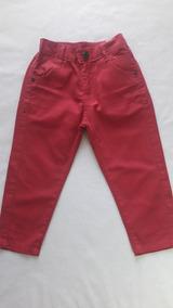 ca2c57076 Calça De Sarja Vermelha Tam - Bebês no Mercado Livre Brasil