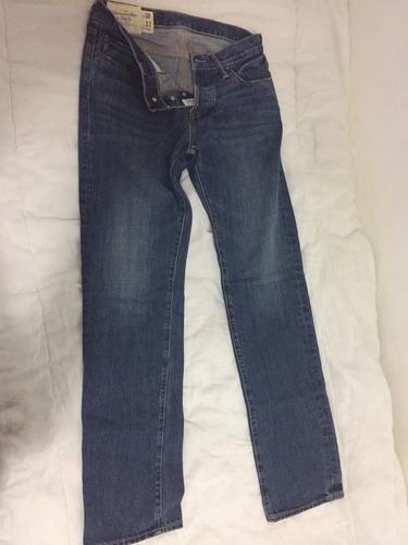 calça jeans abercrombie & fitch masculina