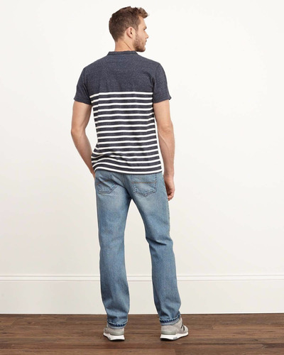 calça jeans abercrombie masculina - 100% original 33x32 p7