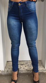 c46d29682 Calca Jeans Cintura Alta Biotipo - Calças Jeans Feminino no Mercado ...