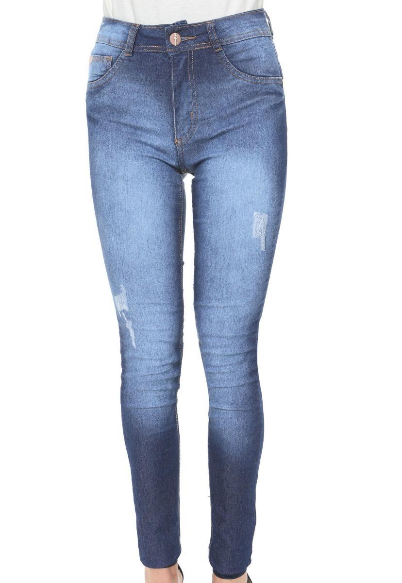 231ecb202 Calça Jeans Biotipo Skinny Melissa Azul - R$ 89,00 em Mercado Livre