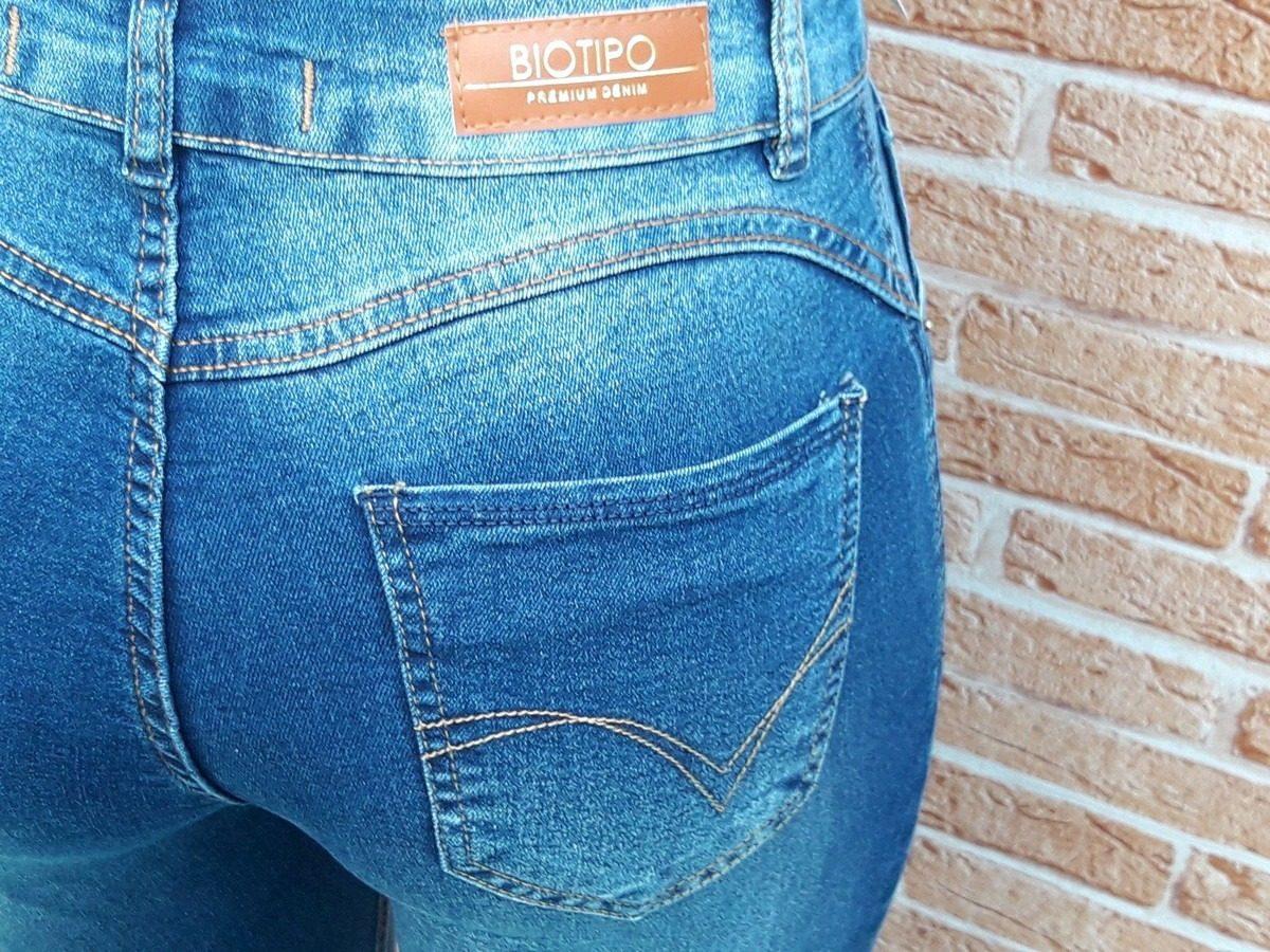 406fa44f1 Calça Jeans Biotipo Skinny Ref: 22034 - R$ 120,00 em Mercado Livre