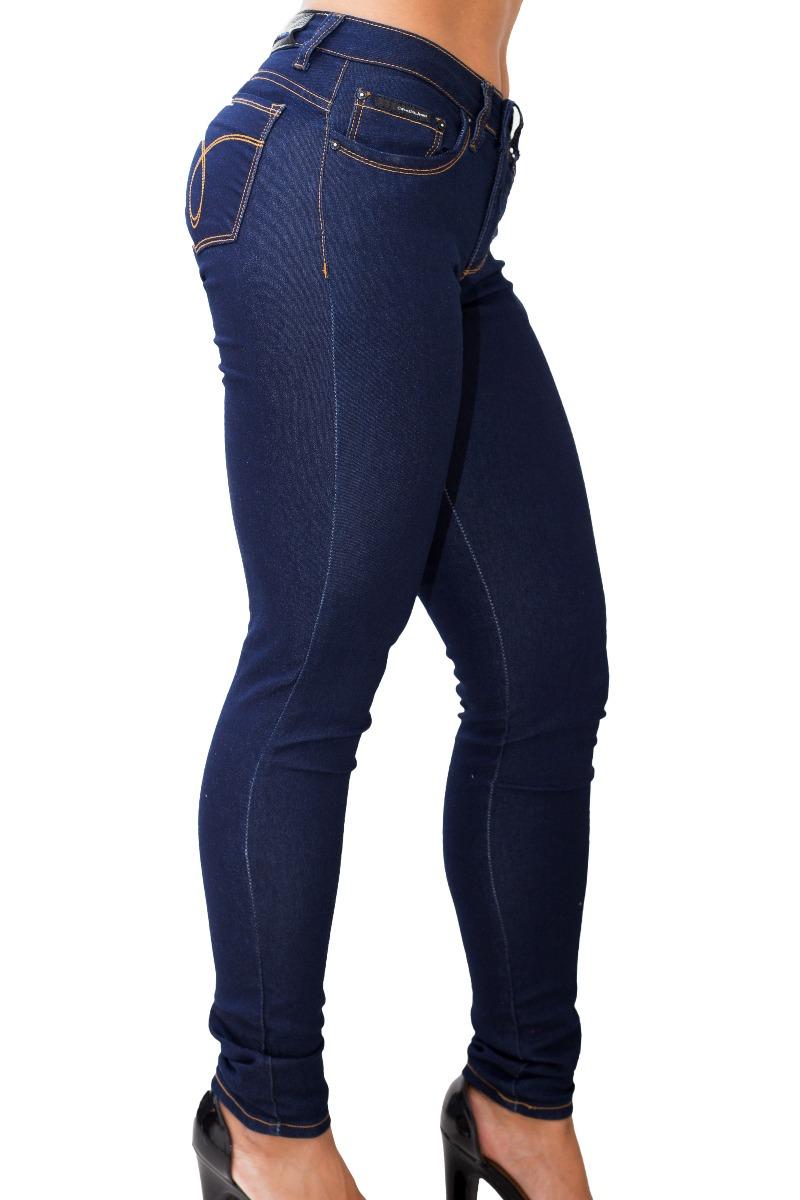 calça jeans black feminina calvin klein skinny com stretch. Carregando zoom. 766456981b