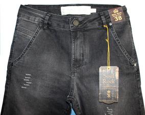 b9a49f2159 Pool Black Jeans Slim no Mercado Livre Brasil