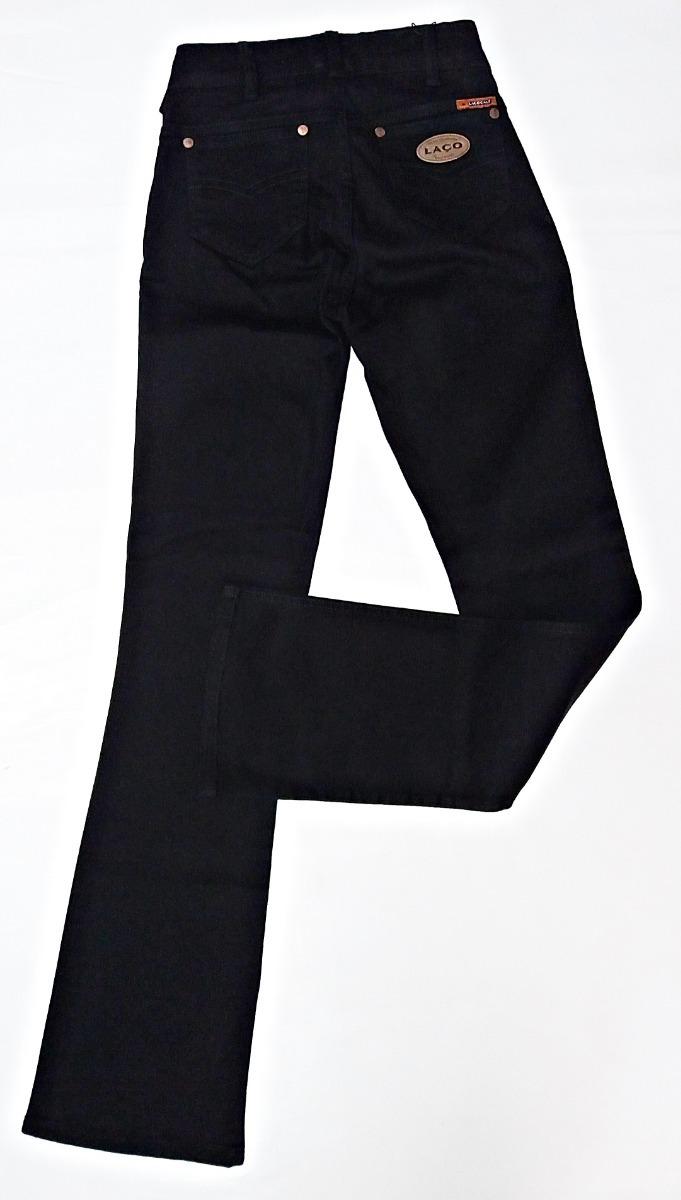 calça jeans brim feminina preta laço country flare rodeio. Carregando zoom. f1b9e6c3fcb