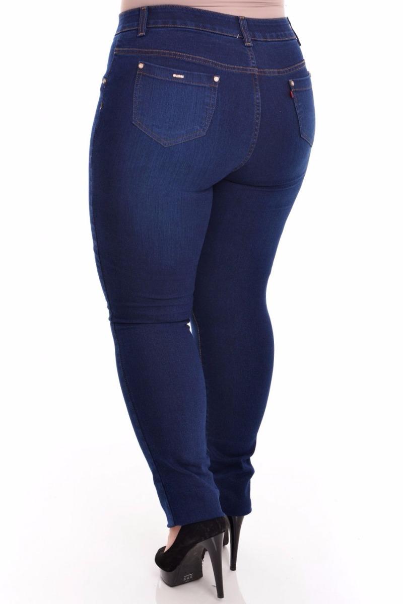 3577d1864d calça jeans c  lycra feminina plus size 50 52 54 56. Carregando zoom.