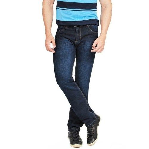 calça jeans c lycra masculina  kit 3 peças slin