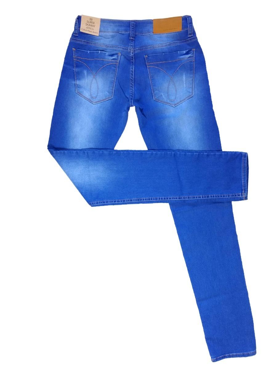 Calça Jeans Masculina Calvin Klein Slim Fit C  Lycra Stretch - R ... 313c7d1518