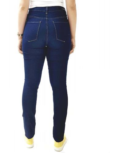 calça jeans calvin klein skinny jegging cintura alta cf8pw11